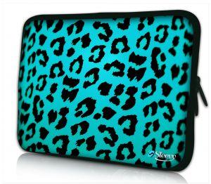 iPad hoes blauwe panterprint Sleevy