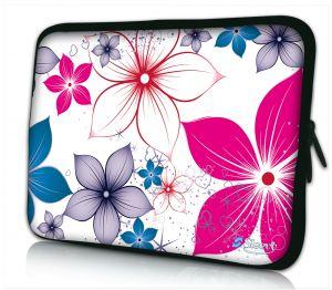 iPad hoes fleurige bloemen Sleevy