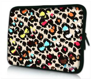 iPad hoes gekleurde panterprint Sleevy