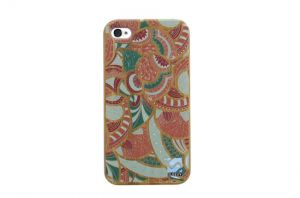 Sleevy iPhone 4 hoes artistiek bamboo