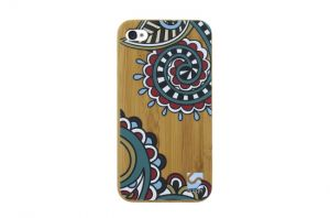 Sleevy iPhone 4 hoes retro bamboo