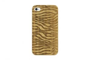 Sleevy iPhone 4 hoes zebra bamboo