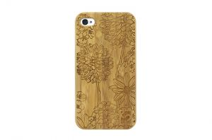 Sleevy iPhone 6 Plus hoes bloemen bamboo