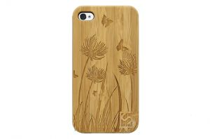 Sleevy iPhone 6 Plus hoes vlindertjes bamboo