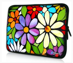 Sleevy 11,6 inch laptophoes macbookhoes bloemen