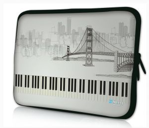Sleevy 11.6 inch laptophoes macbookhoes Golden Gate Bridge