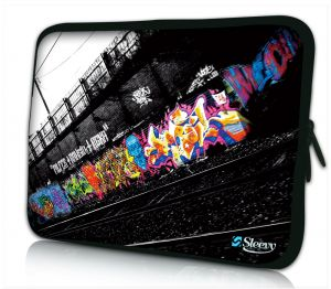 Laptophoes 13 inch graffiti design Sleevy