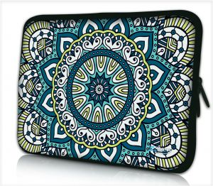 Laptophoes 13,3 inch patroon artistiek - Sleevy
