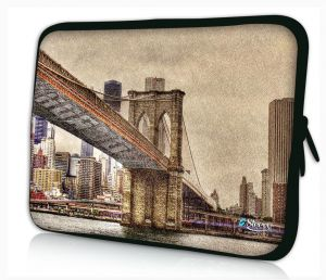 laptophoes 13.3 inch Brooklyn Bridge Sleevy