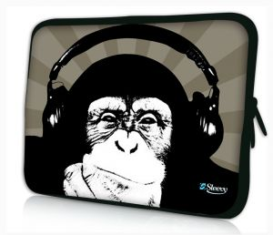 laptophoes 13.3 inch chimpansee Sleevy