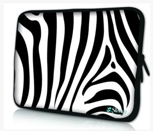 laptophoes 14 inch zebraprint sleevy
