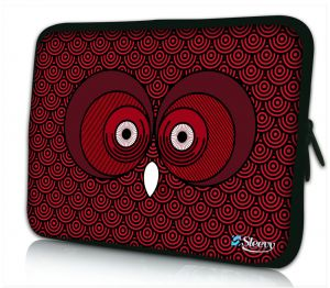 Laptophoes 14 inch rode uil Sleevy