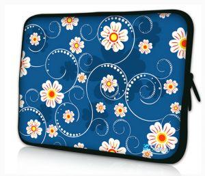Sleevy 15,6 inch laptophoes bloemen