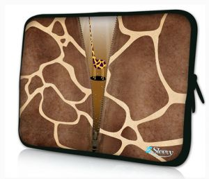 Sleevy 15,6 inch laptophoes giraffe design