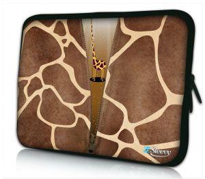 laptophoes 17 inch giraffe design Sleevy