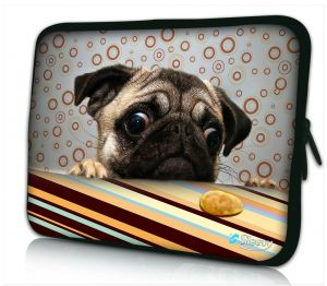 laptophoes 17 inch grappig hondje Sleevy