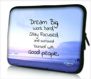 Laptophoes 17,3 inch dream big - Sleevy