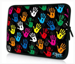 laptophoes 17,3 handjes sleevy