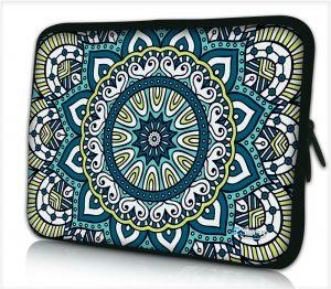 Laptophoes 17,3 inch patroon artistiek - Sleevy