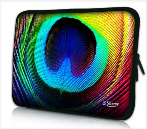 Laptophoes 17,3 inch pauw - Sleevy