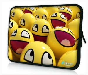 laptophoes 17,3 smileys sleevy