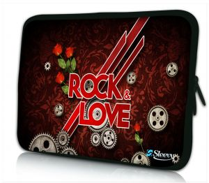 laptophoes 17 inch rock love Sleevy