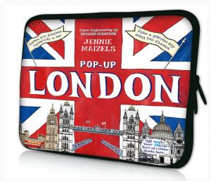 laptophoes 17.3 inch pop-up Londen Sleevy
