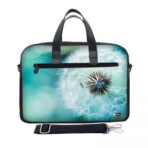Laptoptas 13,3 inch / schoudertas bloem close-up - Sleevy