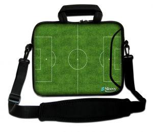 Sleevy 15,6 inch laptoptas voetbalveld