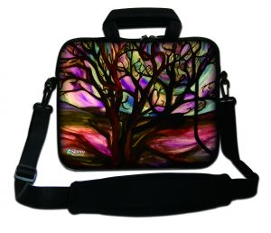Sleevy 15,6 inch laptoptas kunst design