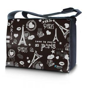 Sleevy 15,6 inch laptoptas Love Paris