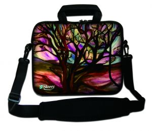 Sleevy 17,3 inch laptoptas kunst design