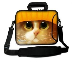 laptoptas 17 inch schattig katje Sleevy