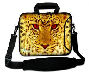 laptoptas 17 inch cheeta Sleevy