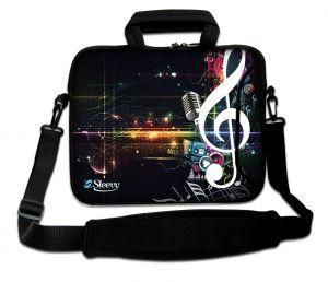 laptoptas 17 inch muzieknoot Sleevy