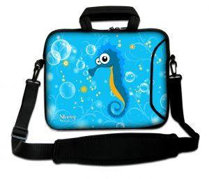 laptoptas 17 inch zeepaardje Sleevy