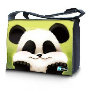 Messengertas / laptoptas 15,6 inch schattig pandabeertje - Sleevy