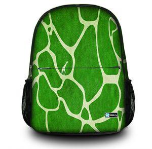 Rugzak groene giraffe print Sleevy