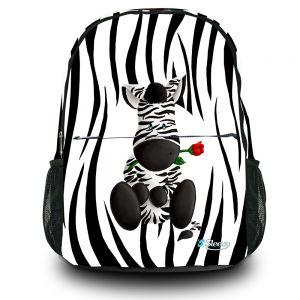 Rugzak schattige zebra Sleevy