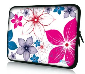 "Sleevy 11"" laptophoes bloemen"