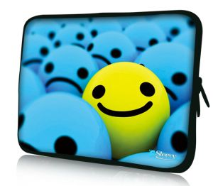 "Sleevy 11"" laptophoes smiley"