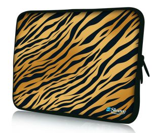 "Sleevy 11"" laptophoes tijger"