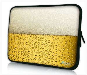 Sleevy 17 inch laptophoes bier