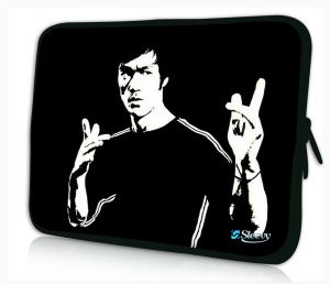 Sleevy 15 inch laptophoes Bruce Lee
