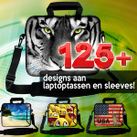 Sleevy laptoptassen en hoezen 125 designs